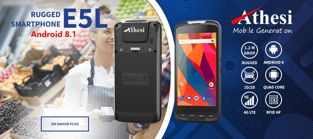 Smartphone durci Athesi E5L
