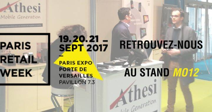 Athesi expose à Paris Retail Week 2017
